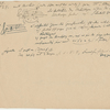 Notes and musical examples concerning Sonata, Op. 106, 1st movement, Item# 10 (recto)