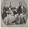 """Group of teachers in the """"McKee School,"""" at Nashville, about 1865"""
