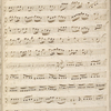 Concerto, written on 10 leaves: Parts for 1st and 2nd violin, viola, cello, flute, and cembalo