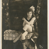 Josephine Cogdell as a pin-up girl, during the period she was a Mack Sennett bathing beauty, 1919