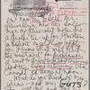 [Letter from Arthur Pettengill to Milton Reynolds]
