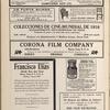 Advertisements for film companies, including Francisco Elias