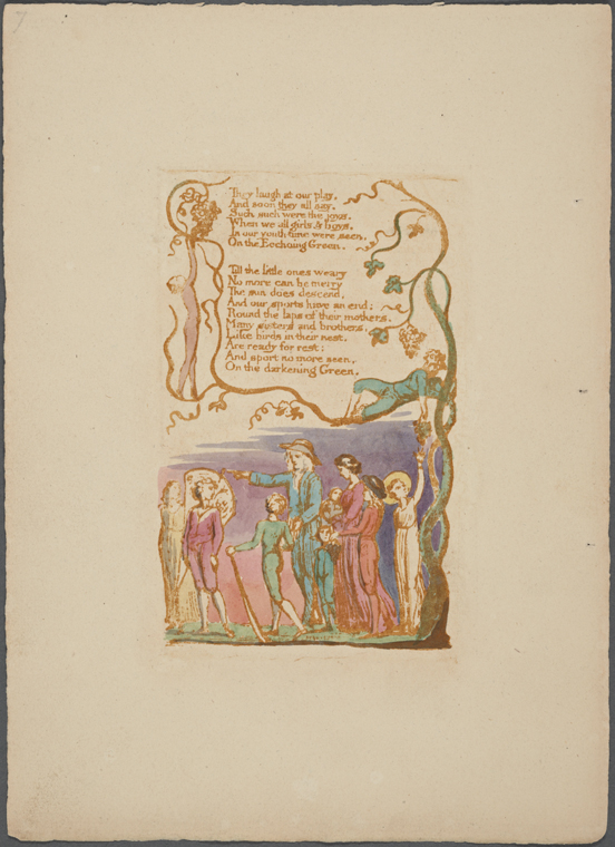 This is What William Blake and The Ecchoing Green Looked Like  in 1789