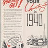 Your opportunity in 1940: [show the world your product]