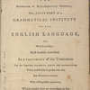 The American spelling book: ontaining an easy standard of pronunciation. Being the first part of a Grammatical institute of the English language
