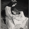 Yvonne Elliman and Jeff Fenholt in the stage production Jesus Christ Superstar
