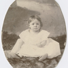 Josephine Cogdell Schuyler as a infant, ca. 1901