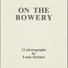 [Title Page]: On the Bowery