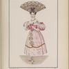 Señora Porteña con trage de baile