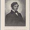 Charles Sumner. From a carbon reproduction by Sherman and McHugh of an original daguerreotype owned by Peter Gilsey, Esq. New York