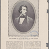 Charles Sumner. From a photograph made about 1860 and reproduced here through the courtesy of the owner, Mr. F.J. Garrison