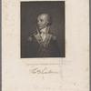 Maj. Genl. Thomas Sumter. [Signature:]Thos. Sumter