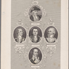 [Center and then clockwise from top:] Wm. Washington. Marion. Sumter. Pickens. Pinckney