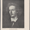Mr. Algernon Charles Swinburne. (From the portrait by G.F. Watts, R.A.)