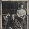This striking portrait of Secretary William H. Taft, Mrs. Taft, and their son Charles, aged eleven, was taken in the parlor of their Washington residence at 1603 K Street, about two weeks ago.