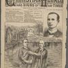The baptism in the Jordan by Dr. Talmage of Mr. Ulysses Grant Houston, of Manhattan, Kans., on Dec. 6, 1889.