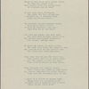 """""""Dirge."""" Holograph poem, unsigned, dated 1838."""