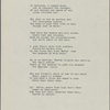 """From the Persian of Hafiz [II]."" [Ghaselle]. Holograph poem, unsigned, undated."