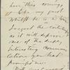 Atkinson, [Edward], ALS to. Dec. 27, [1865]. Previously [n.y.].