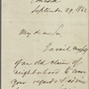 Banks, Major General [Nathaniel Prentiss], ALS to. Sep. 29, 1862.