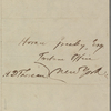 Greeley, Horace, ALS to. Jul. 23, 1850.