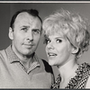 Richard Kiley and Karen Morrow in rehearsal for the stage production I Had a Ball