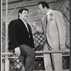 Buddy Hackett and Richard Kiley in the stage production I Had a Ball
