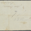 [Thoreau], Henry [David], ANS to. Thurs. [Jun.? 3?, 1841?]. Previously [Jun.? 7?, 1841?]