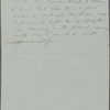 Thoreau, H[enry] D[avid], ALS to.  [Sep.? 30?, 1846?]. Previously [Sep. 4?, 1846].