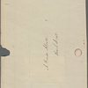 [Alcott, Amos Bronson], ALS to. Nov. 18, 1839.
