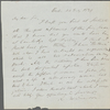 [Alcott, Amos Bronson], ALS to. Jul. 22, 1839.