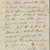 Bacon, D[elia] S., ALS to. Jul. 28, 1856.