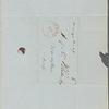Blake, H[arrison] G[ray] O[tis], AL[S] to. Feb. 17, [1846].