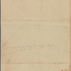[Thoreau, Henry David], ANS to. [Jun. 7?, 1841? (Tilton)] or [Nov. 12?, 1838? (Rusk)].