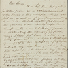 Thoreau, Henry D[avid], ALS to. Jun. 10 and 15, 1843