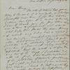 Thoreau, Henry D[avid], ALS to. Jan. 28, 1848.