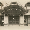 "Entrance to Billy Rose's Diamond Horseshoe at Paramount Hotel during the production ""Turn of the Century"""
