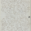 Thoreau, Henry D[avid], ALS to. Feb. [9, 10, 11], 1843.