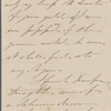 Bennett, William Cox, ALS to NH. May 16, 1860.