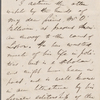 [Bennett, William Cox], ALS to. Sep. 12, 1854.