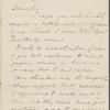 Allingham, W[illiam], ALS to NH. Jun. 25, 1855.