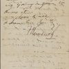 Bennoch, F[rancis], ALS to NH. Aug. 1, 1861.