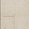 Bennoch, F[rancis], ALS to NH. Mar. 8, 1864.