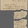 Hillard, George S., AL, fragments, to NH. Apr. 19, 1864.