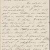 Hawthorne, Elizabeth Manning, ALS to NH. Aug. 17, [1862?]