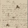 Hawthorne, Julian, ALS to NH. Mar. 23, 1862.