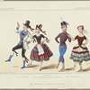 Pas berger, Pas hongrois, dansé par les 36 jeunes danseuses viennoises