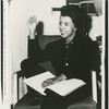 "Dramatist Lorraine Hansberry at the time of her play ""A Raisin in the Sun"" opening in New Haven, Connecticut, prior to its run on Broadway, 1959."