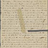 Journal, holograph leaf, mutilated. [June 11, 1855].