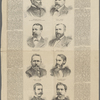 Home rule for Brooklyn. The men who are pledged to support Mayor Low in his efforts to secure local self-government. [From photographs by G.F.E. Pearsall, Gardner, Brady, Alva Pearsall, Rawson and Bolles, Brooklyn.] Benjamin F. Tracy, for justice supreme court, second district ; James L. Jensen, for county clerk ; Edward H. Hobbs, for surrogate ; David S. Arnott, for county treasurer ; Joseph C. Hacker, for city auditor ; Alexander Forman, for comptroller ; Albert G. McDonald, for judge of the city court of Brooklyn ; Colonel Richards, for register.
